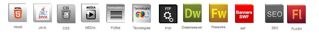 cursos diseño y programación web